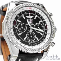 Breitling for Bentley 6.75 Speed Watch Chronograph Black...