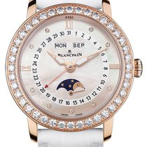 Blancpain Ladies Moonphase & Complete Calendar 35mm...