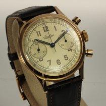 Breitling 1A Vintage Chronograph Premier 18K Roségold, Ref. 777