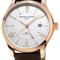 Frederique Constant Classics GMT Automatic RG Plated Mens...