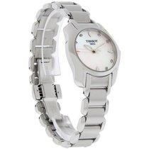 Tissot T-Wave Ladies MOP Diamond Swiss Quartz Watch T023.210.1...