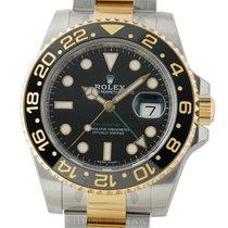 Rolex GMT-Master II 2Tone Ceramic 40mm Black Dial Ref. 116713