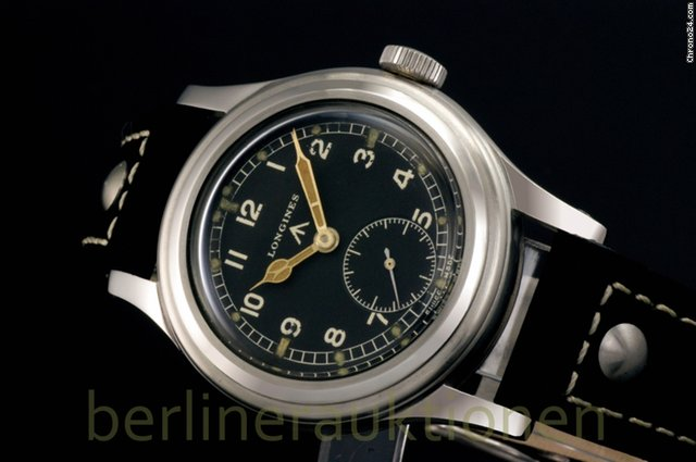 Longines Greenlander - W.W.W. Military Watch - Fliegeruhr - WW2