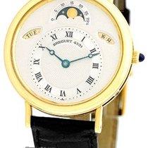 "Breguet ""Classique Calendar Moonphase"" Strapwatch."