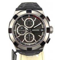 Concord C1 Chronograph Titanium Black
