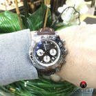 Breitling Chronomat 44 B01 AB0110 Brown Leather Patent Clasp