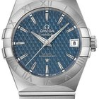 Omega Constellation Co-Axial Blue Date Mens 12310382103001