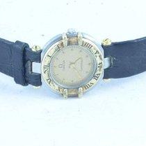 Omega Constellation Damen Uhr Quartz 26mm Mit Leder Band