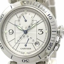 Cartier Pasha 38 Gmt Power Reserve Automatic Watch W31037h3...