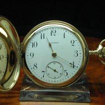 Waltham Gold Mantel Savonette Sprungdeckel Taschenuhr Von Ca....
