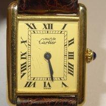 Cartier Tank Quartz Vermeil Roman Watch Ref. 1615 Cartier...