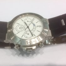 Bulgari Diagono Chronograph Regatta 18k white gold