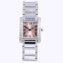 Cartier Diamond Set Tank Francaise