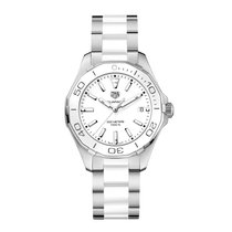 TAG Heuer Aquaracer 35mm Date Quartz Ladies Watch Ref WAY131B....