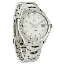 TAG Heuer Link Series Mens Silver Dial Swiss Quartz Watch...