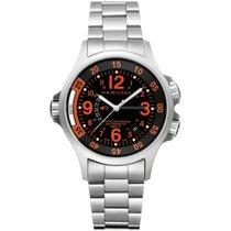 Hamilton Khaki Navy GMT XL Automatik H77665173