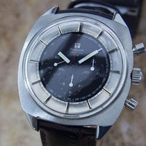 Tissot Seastar T12 Large 42mm Manual 1970s Chronograph Swiss...