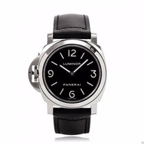 Panerai PAM00219 Luminor Base 44mm PAM 219 Manual Wind Black Dial