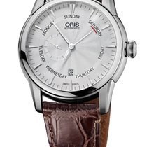 Oris Artelier Small Second Pointer Day Leather Bracelet