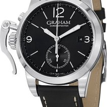Graham Chronofighter 1695 Automatic Chronograph Black Dial...