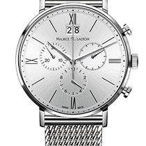 Maurice Lacroix Eliros Chronographe Silver Dial, Steel Strap,...