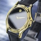 Movado Museum Gold-plated Dress Watch, C.1990s (jxb6614)