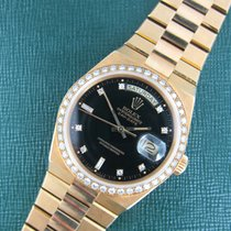 Rolex Yellow Gold Oysterquartz Day-Date Diamond Ref. 19048