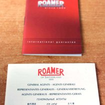 Roamer vintage warranty watch or chronograph papers and booklets