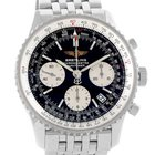 Breitling Navitimer Chronograph Black Dial Watch A23322 Year 2004