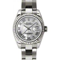 Rolex Lady-Datejust 26 179179-MOPRO White Mother of Pearl...
