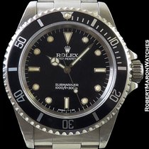 Rolex 14060 Submariner Unpolished Steel Box & Papers