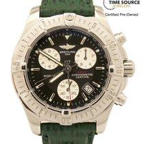 Breitling Colt Chronograph Stainless Quartz 42mm B&P Watch