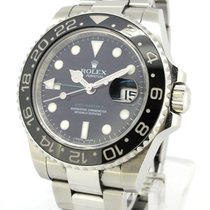 Rolex Oyster Perpetual GMT II 116710LN, With Paper