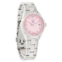 TAG Heuer Carrera Diamond Ladies Swiss Quartz Watch WV1417.BA0793