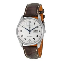 Longines Master Collection Automatic Brown Leather Mens Watch...