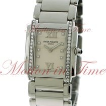 Patek Philippe Twenty-4 Medium, White Diamond Dial, Diamond...