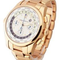 Girard Perregaux 49800-5-52-1041 World Time Chrono on Bracelet...