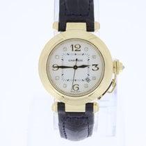 Cartier Pasha  Midsize 18K Gold Automatic with diamonds