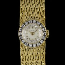 Patek Philippe 18k Yellow Gold Diamond Bezel Cocktail Vintage...