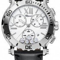 Chopard Happy Sport XL Chronograph Diamonds
