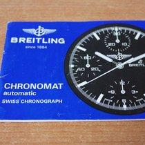 Breitling vintage booklet chronomat model