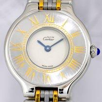Cartier Must de Cartier 21 Rolleauxband Stahl/Gold Klassiker