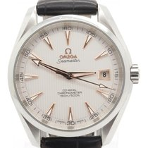 Omega Seamaster Aqua Terra Men's Steel Watch W/ Date Ref....
