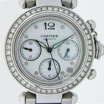 Cartier Pasha Chronograph Diamonds