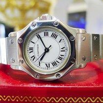 Cartier Santos Octagon Ladies Steel 25mm Date Automatic Watch