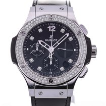Hublot Big Bang Shiny 41 Automatic Black Leather