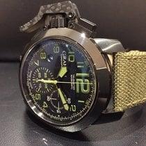 Graham Chronofighter Oversize Chronograph Amazonia Green Box...