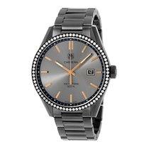 TAG Heuer Carrera 41mm  Date Quartz Ladies Watch Ref WAR101B.B...