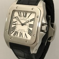Cartier Santos 100 Mens Automatic Steel Watch