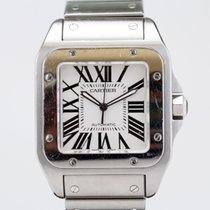 Cartier Santos 100 XL on Bracelet